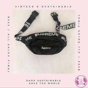 Authentic SS18 Supreme Waist Bag! ✨